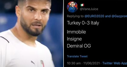 Black Magic: Football fan predicted exact Italy–Turkey result 10 hours before the match