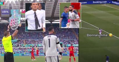 Pourquoi Roberto Mancini a remplacé le gardien italien Donnarumma à la 89e minute