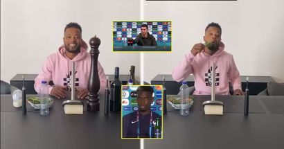 Evra trolls both Pogba and Ronaldo with hilarious parody press conference (video)