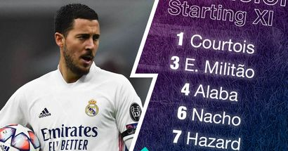 OFFICIAL: Real Madrid XI vs Sheriff unveiled