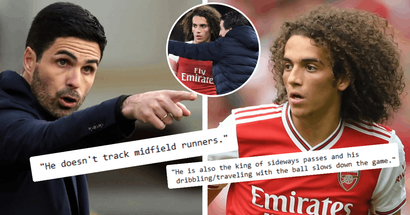 """'Was Emery's """"project"""" and received favouritism from manager': Fan explains why he doesn't want Matteo Guendouzi back"""