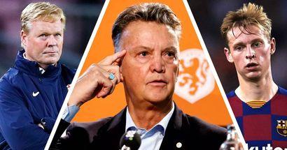 Van Gaal kritisiert Barca für Umgang mit Koeman und de Jong: Wenn es nicht läuft, macht man die Ausländer verantwortlich dafür