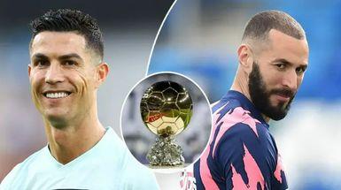 Probabilidades de ganar el Balón de Oro 2021: ningún jugador del Madrid en el top10, Cristiano en segundo