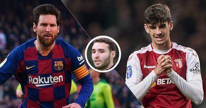 Abel Ruiz fait l'éloge de Trincao et le compare au seul et unique Leo Messi