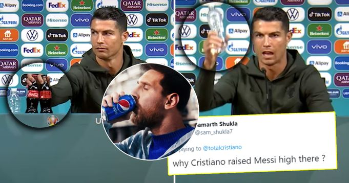 'Meanwhile, Messi slurps Pepsi and we still have GOAT debates?': Cristiano Ronaldo removes Coca Cola bottles during presser – fans bring Leo into discussion