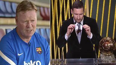 'Revisemos su temporada': Koeman analiza las posibilidades de Messi de ganar el Balón de Oro