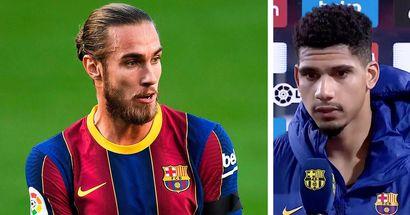 أراوجو : أنا سعيد للغاية لأن برشلونة يمنح الفرص للاعبين الشباب مثلي و مثل مينغيزا