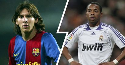 'I doubt Messi can make it at Barca': How Real Madrid fans tried to tell future by comparing Messi to Robinho in 2005