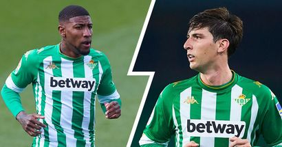 Barcelona set to complete Emerson signing with Juan Miranda moving to Betis on permanent basis (reliability: 4 stars)