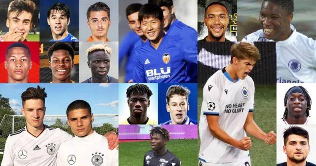 Superordenador elige el Top50 de jugadores nacidos desde 2000 – algunos de ellos solo tienen 17 años