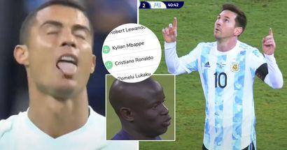 Cotes du Ballon d'Or 2021: Messi devant Kanté, Ronaldo hors du top 5