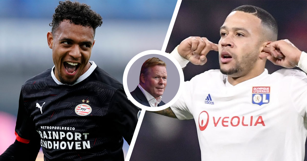 PSV's Malen named Koeman's plan B in case Barca miss out on Depay  (reliability: 4 stars)