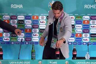 Locatelli follows Ronaldo's lead as Euro 2020 bosses address Coca-Cola snubs