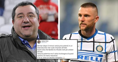 """""""Sogno un mondo di calciatori come Skriniar e che Raiola torni a consegnare pizze"""", i tifosi dell'Inter esaltano il difensore"""