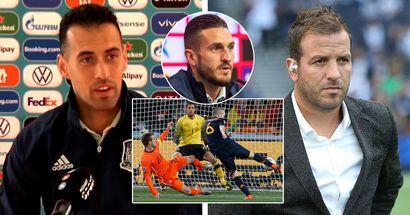 'It's just sad': Busquets refuses to enter Van der Vaart spat after ex-Madridista calls Spain horrible