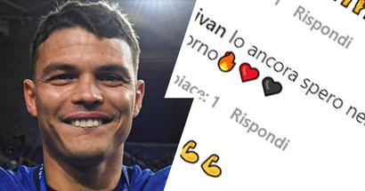 """""""Spero nel suo ritorno"""", i tifosi del Milan omaggiano Thiago Silva per la vittoria della Champions"""
