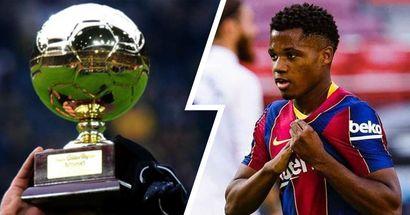 Ansu Fati: 'Sueño con ganar el Golden Boy'