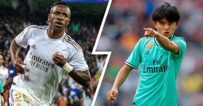 Vinicius Jr y 3 jugadores más del Real Madrid nominados al premio Golden Boy
