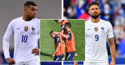 Tension still boiling between Giroud and Mbappe over Olivier's recent comments