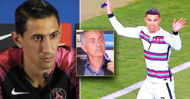 """Angel Di Maria: """"Mourinho ist verrückt, es war ihm sch***egal. Einmal hat er sich mit Cristiano Ronaldo gestritten"""""""