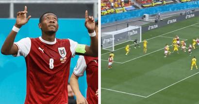 David Alaba a réalisé une performance exceptionnelle contre l'Ukraine - Il a offert la passe décisive pour le but victorieux de son équipe