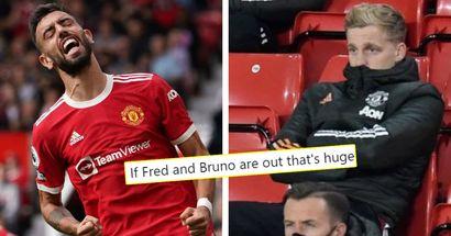 Man United fans demand Donny van de Beek to start in Bruno Fernandes' absence vs Liverpool