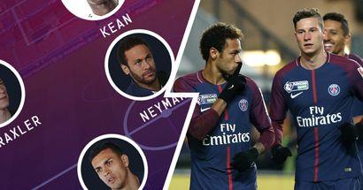 Retour de Draxler avec Neymar en 10 ? Choisissez votre XI du PSG vs Basaksehir parmi 3 options probables