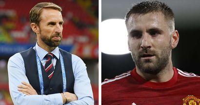Gareth Southgate reveals how Luke Shaw has impressed him upon England return