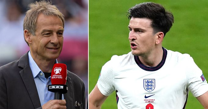 'He looks like a Mustang': Klinsmann compares Maguire to Brazil star