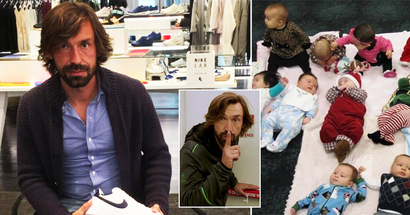 Fan who promised Andrea Pirlo to name his son after him officially announce that 'Little Pirlo' was born