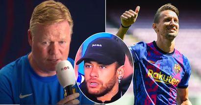 Koeman: Luuk de Jong es más peligroso que Neymar con un centro