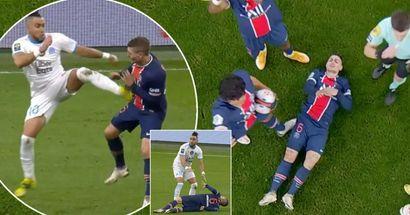 Dimitri Payet perde la calma, attacca Verratti con un folle calcio di kung fu davanti all'arbitro