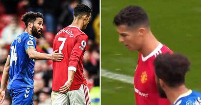 Desvelan qué pasó exactamente entre Cristiano y un jugador del Everton
