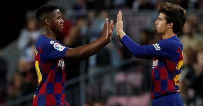 ماركا: برشلونة يمنع فاتي وبويج من مساعدة الفريق الثاني في مباراته الفاصلة