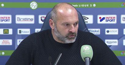 """""""J'espère que l'on va donner une bonne image de notre équipe"""" : L'entraineur de Caen espère voir un beau match de son équipe face au PSG"""