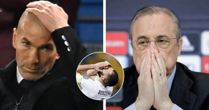 Real Madrid players fear 'tired and annoyed' Zidane might step down at the end of season