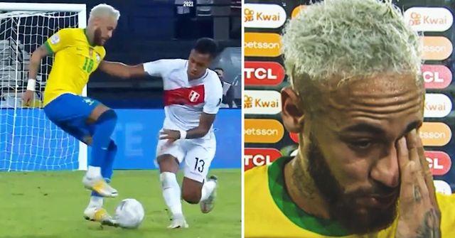 Neymar blamiert Peru-Spieler mit unglaublichen Samba-Tricks, weint nach dem Spiel