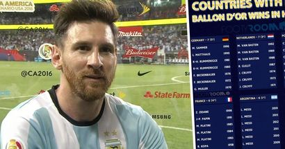 Révélé: Pays avec le plus de victoires au Ballon d'Or dans l'histoire - le Portugal devant l'Argentine