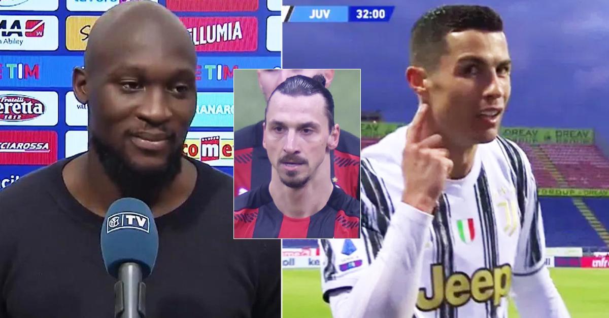 """Romelu Lukaku: """"Je veux gagner pour l'Inter, Cristiano - pour la Juventus. Zlatan veut gagner pour lui-même"""""""