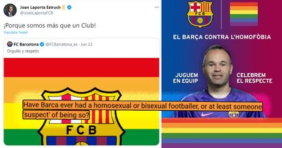 Have Barca ever had a gay footballer? You asked we answered