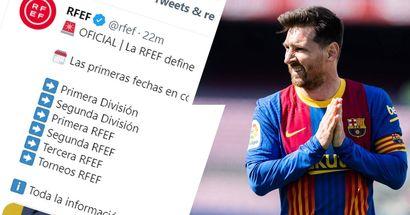 رسمياً : موعد الدوري الأسباني المحدد لبدء موسم 2021/22
