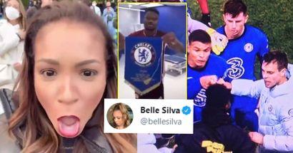 La esposa de Thiago Silva reacciona a la falta de respeto del jugador del Leicester Daniel Amartey contra el Chelsea