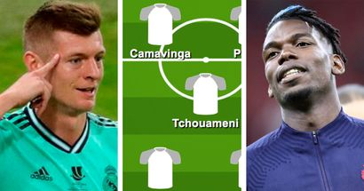 Kroos out, Pogba in: How Real Madrid could line up in 2022 if latest transfer rumours were true
