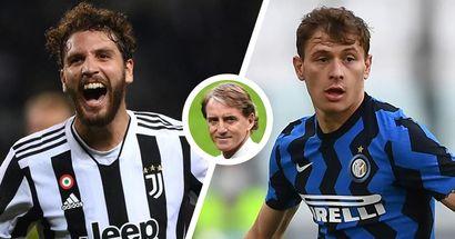 """Mancini: """"Inter-Juve non sarà decisiva. Locatelli e Barella hanno in mano il loro futuro"""""""