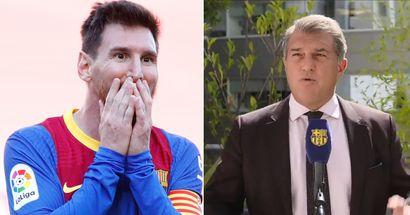 Laporta: 'Tenía una última esperanza de que Messi dijera que juega gratis'