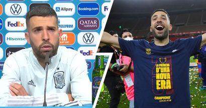 Jordi Alba no tiene ninguna intención de abandonar el Barça, quiere terminar su contrato que expira en 2024