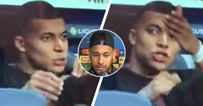 Mbappé fue visto criticando a Neymar desde el banco, reveladas sus palabras exactas