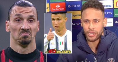 Neymar kreiert seinen perfekten Spieler und erwähnt dabei 7 Superstars, darunter CR7, Sergio Ramos und Zlatan