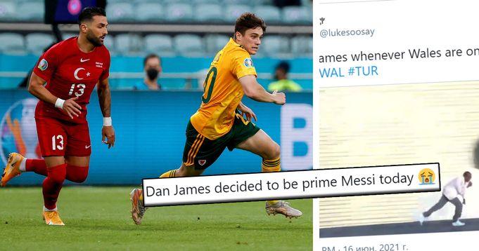 Dan James' flawless performance vs Turkey broken down with stats, memes & fan reactions