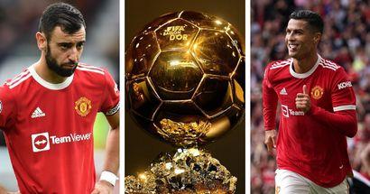Ballon d'Or 2021: Bruno and Ronaldo chances rated as 30-man shortlist announced